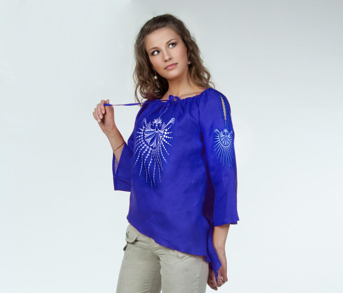 Блузка льняная iv40825