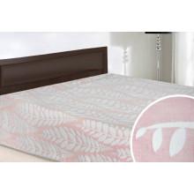 Покрывало iv47023 розовое (хлопок-жаккард)