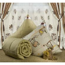Одеяло зимнее iv6126 (верблюжья шерсть, тик)