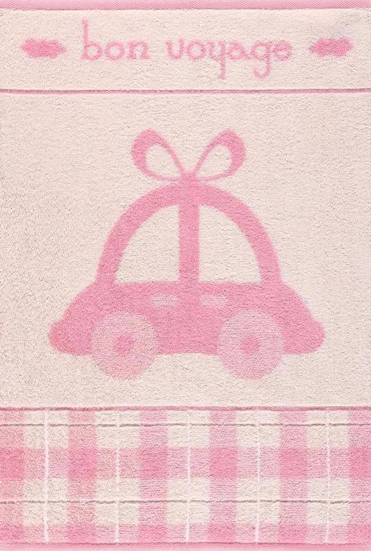 """Полотенце махровое """"Машинка"""" (50х70)"""