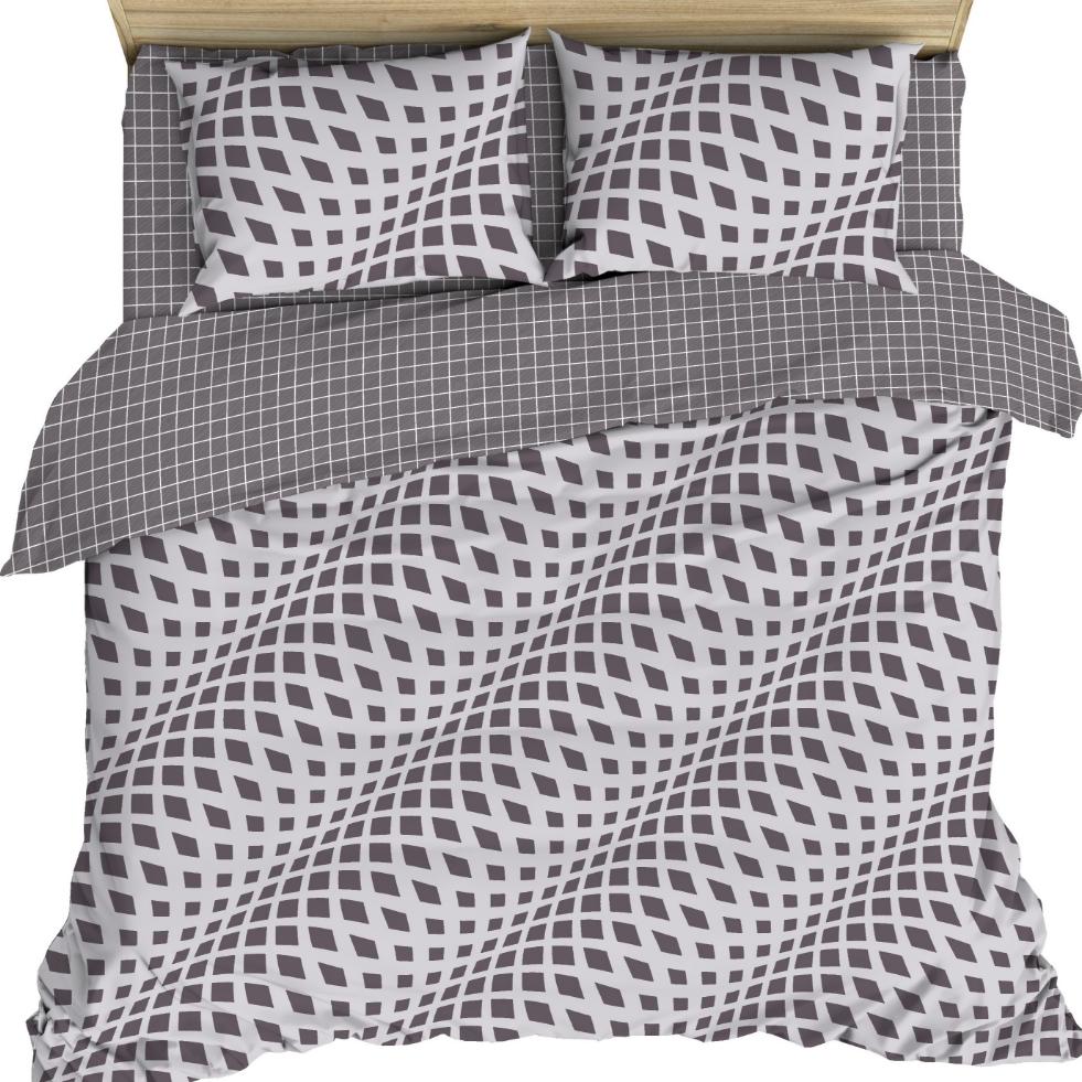 Постельное белье Рельефные волны (бязь) (2 спальный) постельное белье кпб b 159 2 спальный 1220840