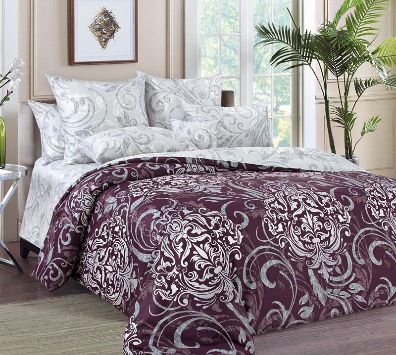 """Постельное белье """"Гранд"""" (сатин) (2 спальный) постельное белье estro c52 комплект 2 спальный сатин"""