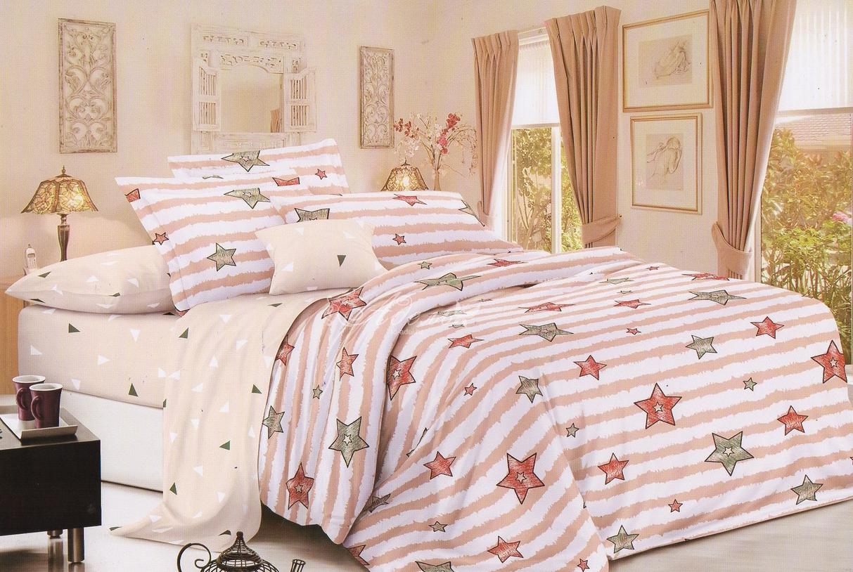 Фото - Постельное белье iv77205 (поплин) (1,5 спальный) постельное белье iv76089 поплин 1 5 спальный