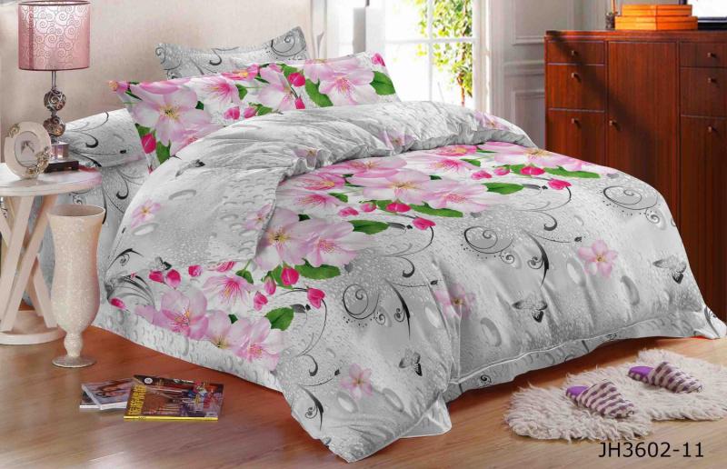 Фото - Постельное белье Норман (полисатин) (1,5 спальный) постельное белье этель кружева комплект 2 спальный поплин 2670978
