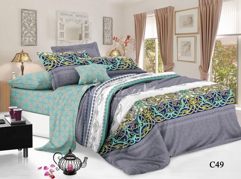 Постельное белье iv61435 (поплин) (1,5 спальный) постельное белье iv54872 поплин 1 5 спальный