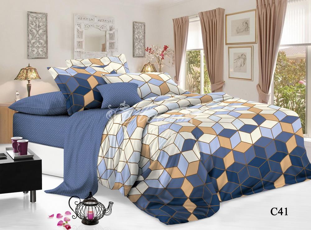 Постельное белье iv61436 (поплин) (1,5 спальный) постельное белье iv54872 поплин 1 5 спальный
