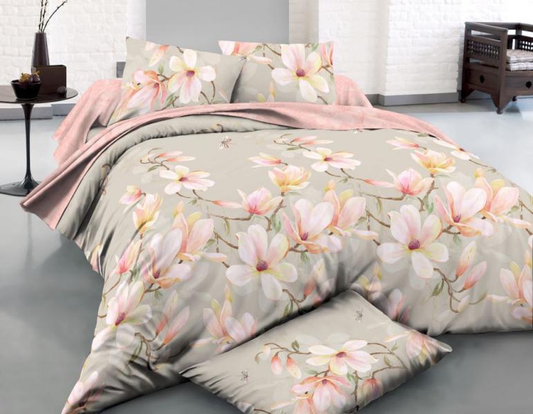 Фото - Постельное белье Амман (поплин) (2 спальный с Евро простынёй) постельное белье этель кружева комплект 2 спальный поплин 2670978