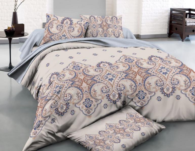 Фото - Постельное белье Анкона (поплин) (2 спальный с Евро простынёй) постельное белье этель кружева комплект 2 спальный поплин 2670978