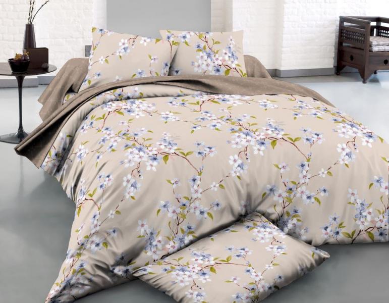 Фото - Постельное белье Несебр (поплин) (2 спальный с Евро простынёй) постельное белье этель кружева комплект 2 спальный поплин 2670978