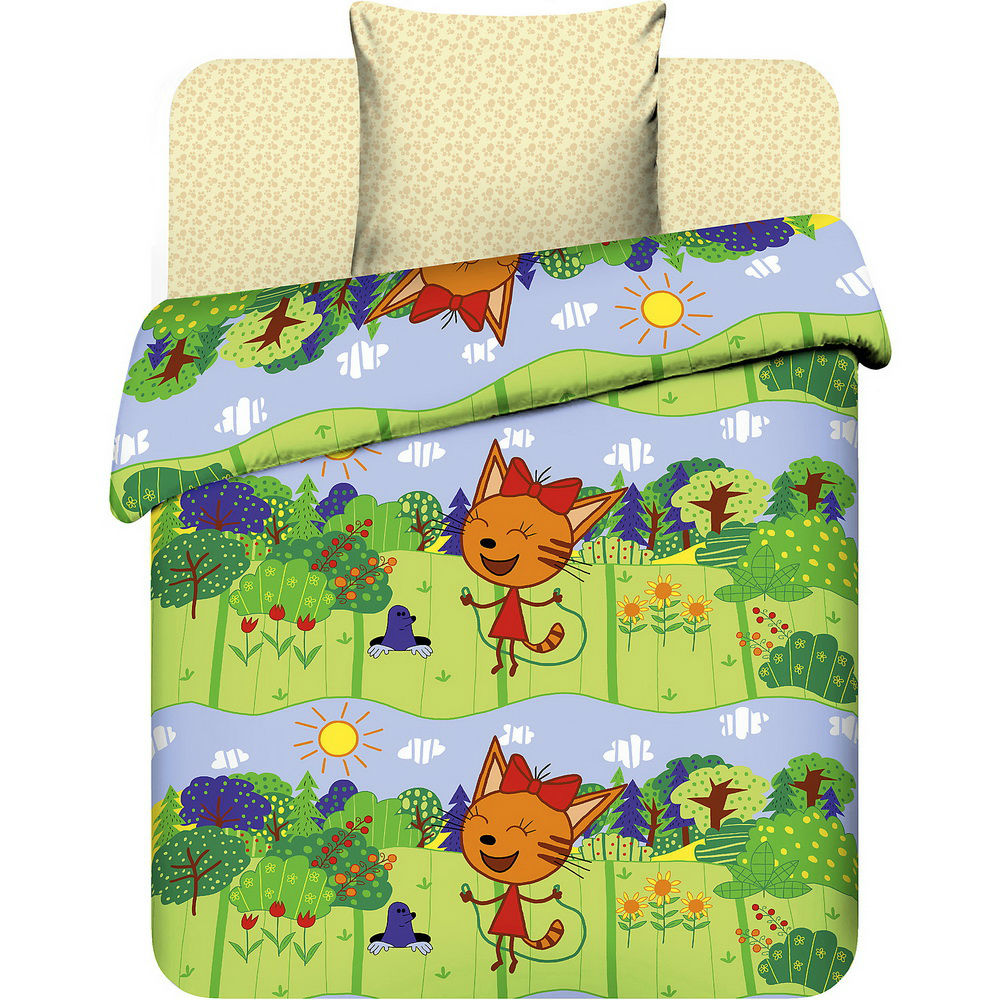 Постельное белье Карамелька (бязь) (1,5 спальный) постельное белье жаркое лето бязь 1 5 спальный