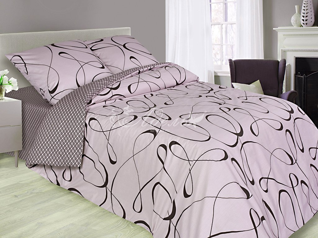Постельное белье Петля времени (сатин) (2 спальный) постельное белье cleo кпб сатин набивной люкс дизайн 365 2 спальный