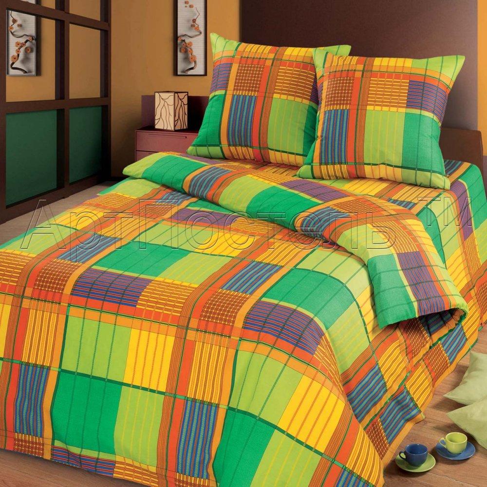цена Постельное белье Ямайка (бязь) (2 спальный)