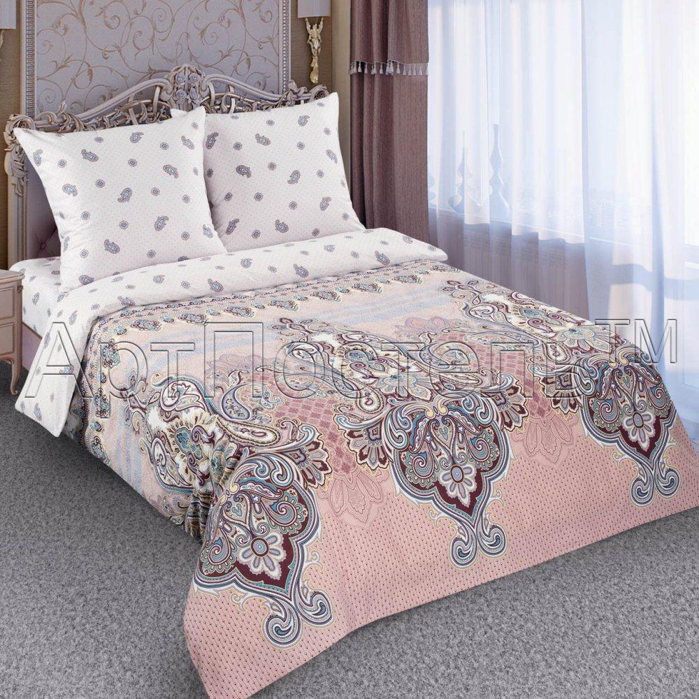 Постельное белье Маркиз (поплин) (1,5 спальный) постельное белье дельфины поплин 1 5 спальный