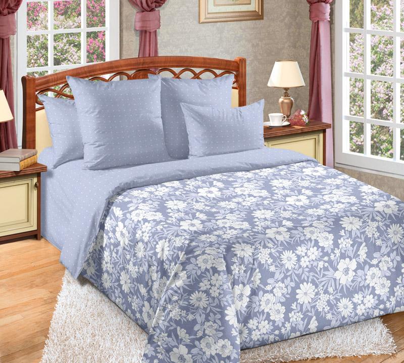 Постельное белье Деним (перкаль) (1,5 спальный) постельное белье аманда лен 1 5 спальный