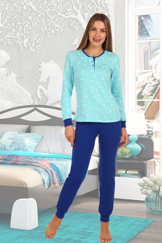 Пижама женская Голубая лагуна