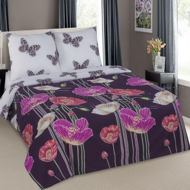 Постельное белье Астерикс (поплин) (1,5 спальный) постельное белье valtery кпб поплин ap 30 2 спальный