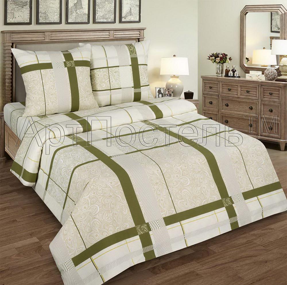 Постельное белье Пальмира (поплин) (1,5 спальный) постельное белье дельфины поплин 1 5 спальный