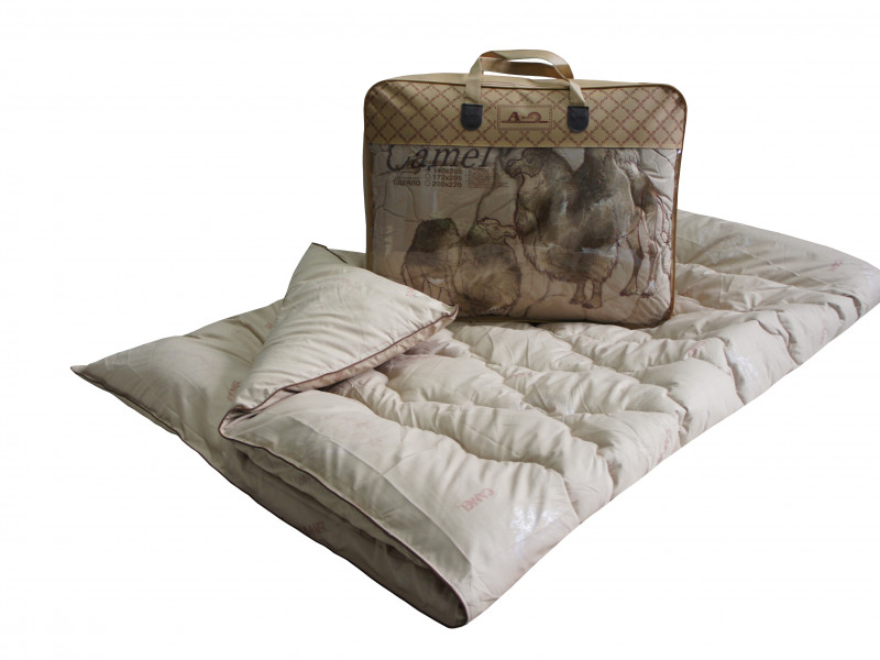 Одеяло iv74733 (верблюжья шерсть, тик) (1,5 спальный (140*205))