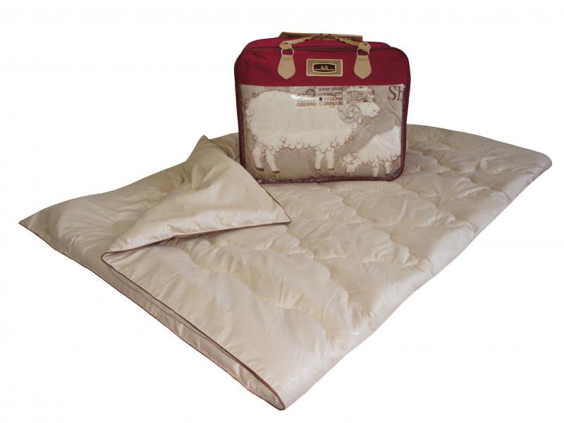 Одеяло iv74739 (овечья шерсть, тик) (1,5 спальный (140*205))