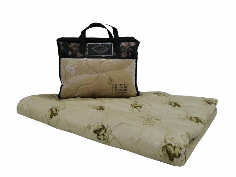 Одеяло iv74743 (верблюжья шерсть, поплекс) (1,5 спальный (140*205))