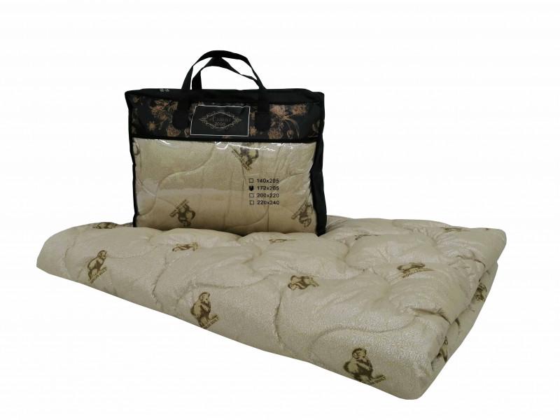 Одеяло iv74744 (овечья шерсть, поплекс) (1,5 спальный (140*205))