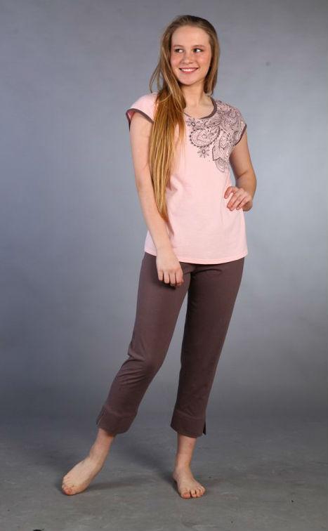 Пижама женская #Бреннана#, Размер: 52 - Одежда для сна - Пижамы