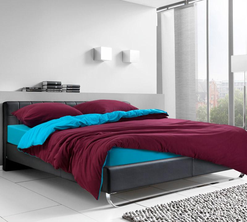 Постельное белье Ледяной гранат (трикотаж) (1,5 спальный (простыня на резинке)) постельное белье хаски бязь 2 спальный простыня на резинке