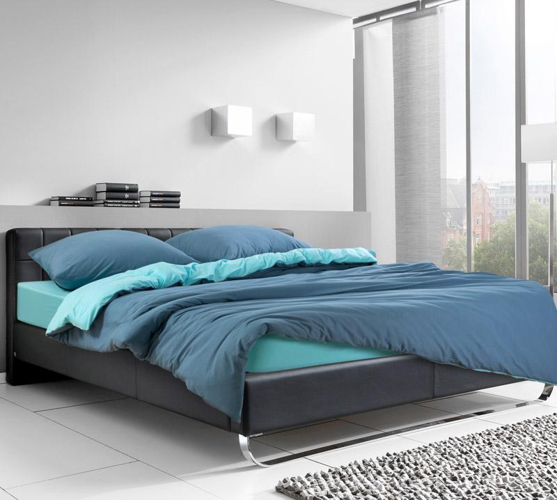 Постельное белье Морская лагуна (трикотаж) (1,5 спальный (простыня на резинке)) постельное белье хаски бязь 2 спальный простыня на резинке