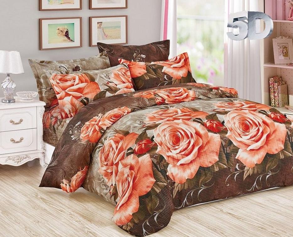 Постельное белье Роза (жатка) (1,5 спальный) постельное белье дария жатка 1 5 спальный