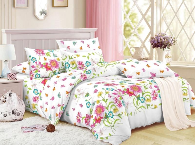 Фото - Постельное белье Тая (сатин) (1,5 спальный) постельное белье этель кружева комплект 2 спальный поплин 2670978