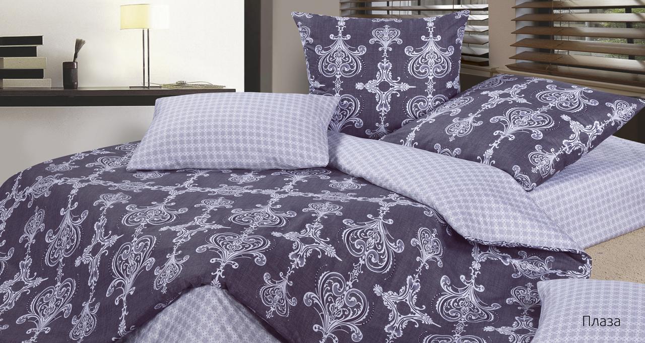 Постельное белье Плаза (сатин) (1,5 спальный) постельное белье cleo кпб сатин набивной люкс дизайн 315 1 5 спальный