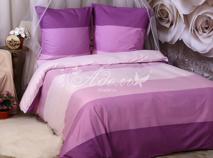 Постельное белье Фуксий (сатин) (2 спальный) постельное белье cleo кпб сатин набивной люкс дизайн 365 2 спальный