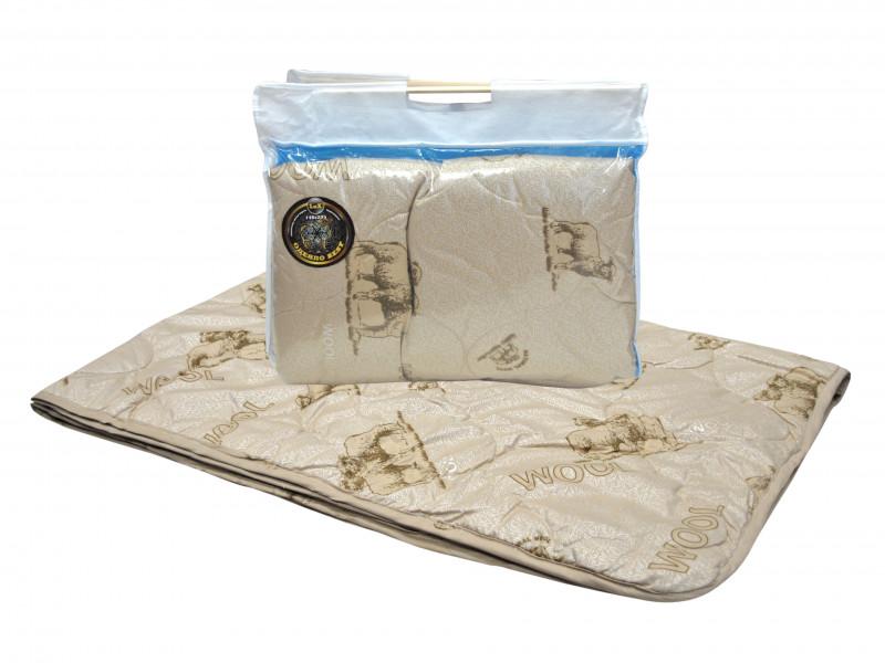 Одеяло iv74760 (овечья шерсть, поплекс) (1,5 спальный (140*205))
