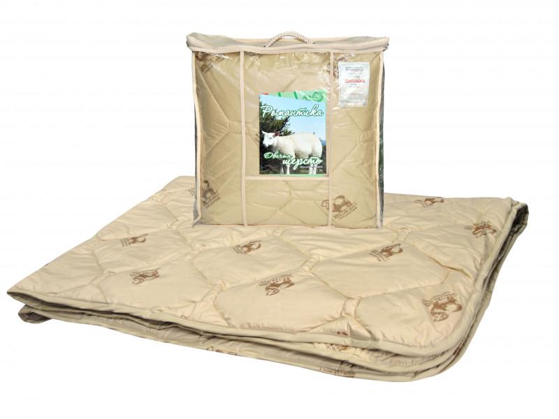 Одеяло iv74766 (овечья шерсть, тик) (1,5 спальный (140*205))