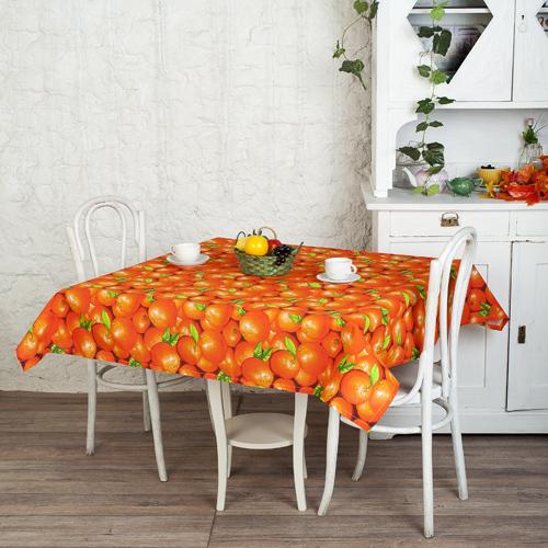 цена на Скатерть столовая Апельсины (145*145)