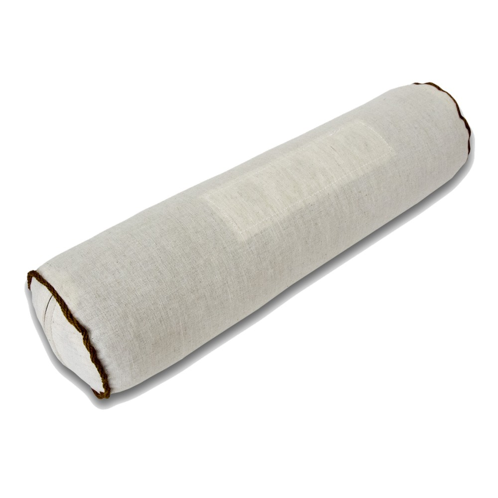 Подушка-валик iv40360 (лузга гречихи, лен+хлопок) (10*40)
