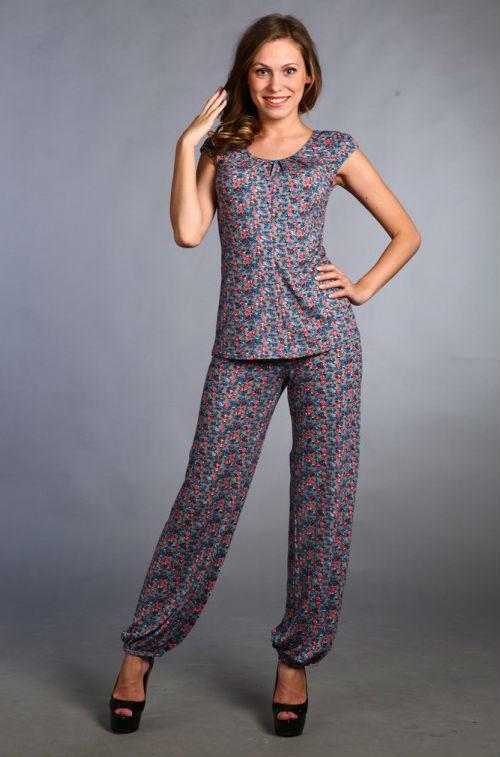 Костюм женский #Варегем#, Размер: 46 - Костюмы - Летние костюмы