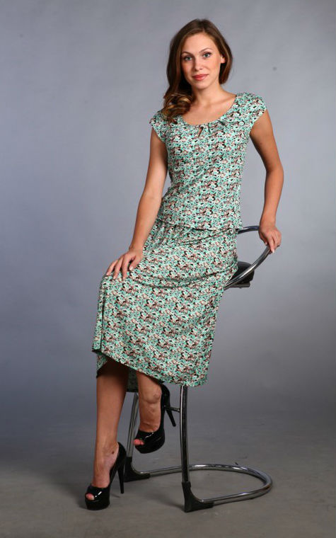 Костюм женский #Ютика#, Размер: 50 - Костюмы - Летние костюмы