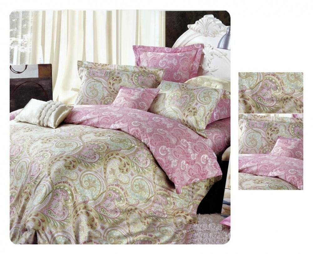 Постельное белье iv42578 (сатин) (2 спальный с Евро простынёй)
