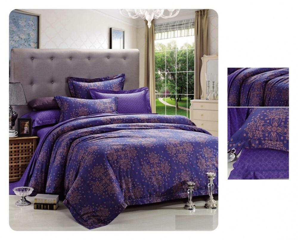 Постельное белье iv42583 (сатин) (2 спальный с Евро простынёй)