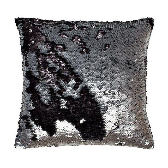 Подушка с пайетками iv50655 (черная) (40*40) pantozol 40