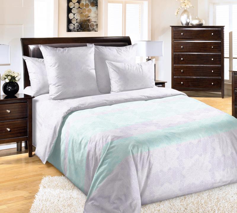 Постельное белье Сон в летнюю ночь (перкаль) (1,5 спальный) постельное белье унисон россини 15375 1 15376 1 комплект 2 спальный перкаль 450154