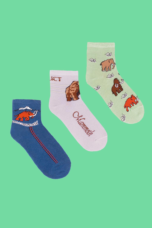 белье acoola носки детские 3 пары цвет ассорти размер 18 20 32214420032 Носки детские iv26818 (упаковка 3 пары) (18-20)