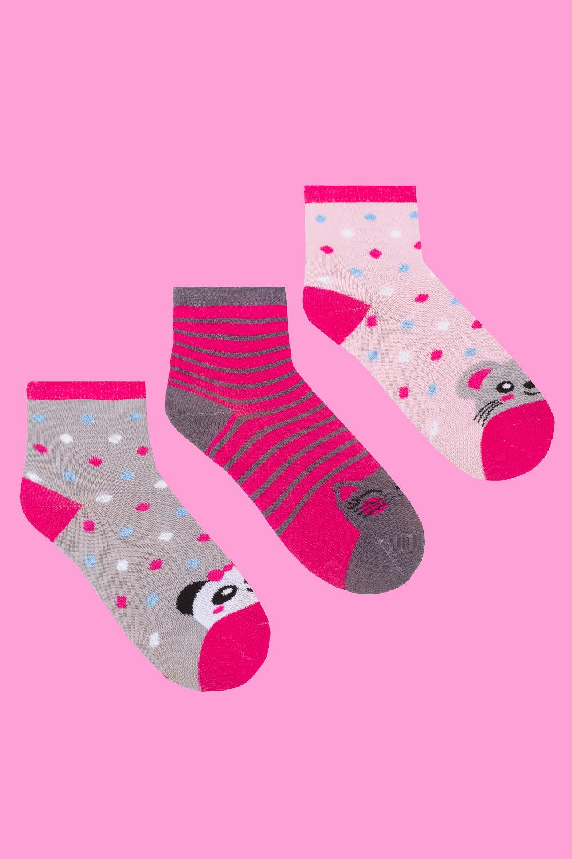 белье acoola носки детские 3 пары цвет ассорти размер 14 16 32224420039 Носки детские Мульти (упаковка 3 пары) (14-16)