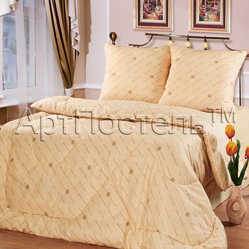 Одеяло зимнее iv36333 (полиэфирное волокно, бязь) (1,5 спальный (140*205))
