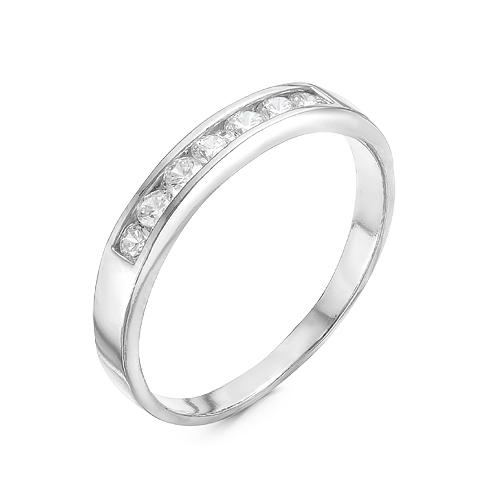 Кольцо серебряное 2387940Д кюп женское серебряное кольцо с куб цирконием alm3201002261 17
