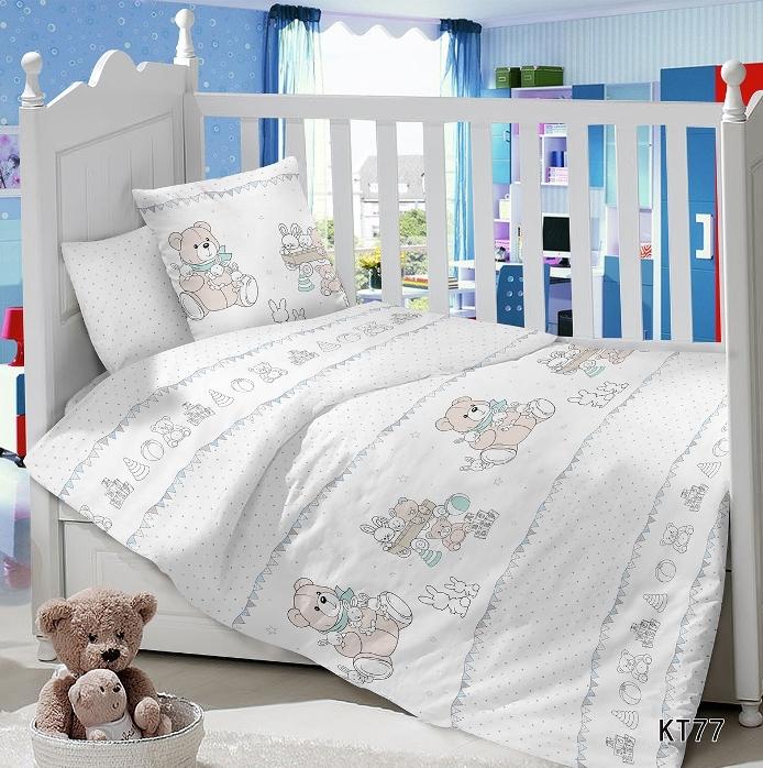 Постельное белье Мои игрушки (сатин) (Ясельный) постельное белье неон синий бязь ясельный