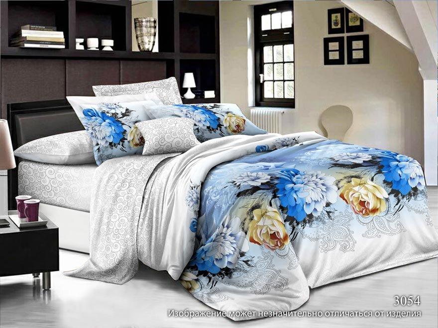 цена Постельное белье Ovonavi-1387 (жатка) (1,5 спальный) онлайн в 2017 году