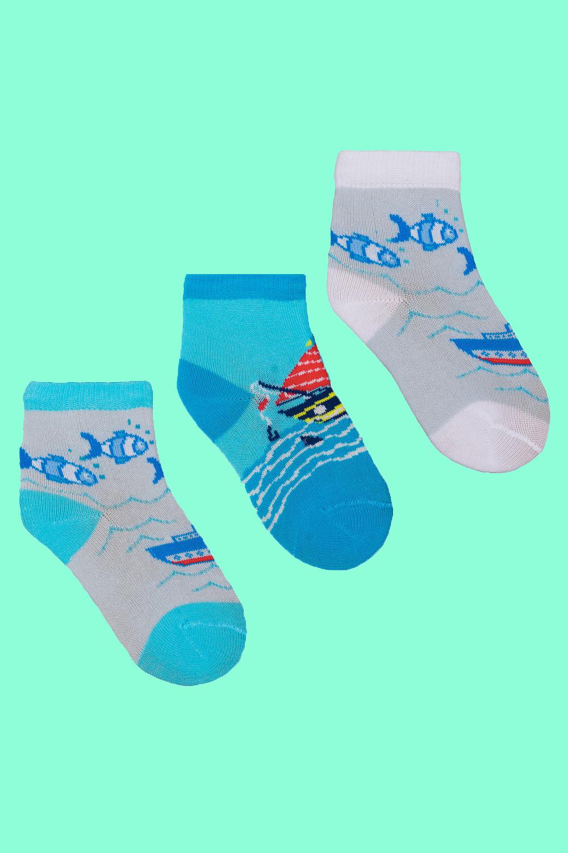 Носки детские Море (упаковка 3 пары) носки детские январь упаковка 3 пары