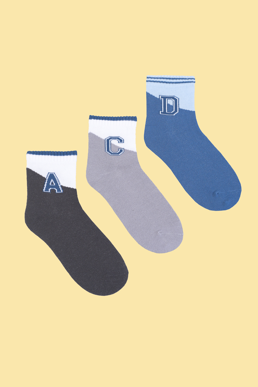 Носки детские Буквы (упаковка 3 пары) носки детские январь упаковка 3 пары